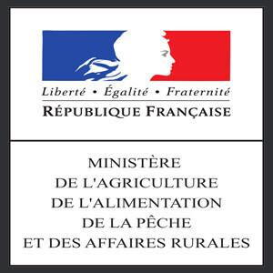 Logo officiel du Ministère de l'Agriculture de l'Alimentation, de la Pêche et des Affaires Rurales