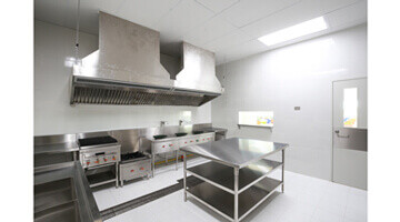 Renovation plafond laboratoire alimentaire