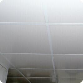 Faux-plafond supsendu