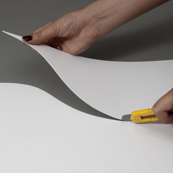 Découpe plaque expansée 2 mm